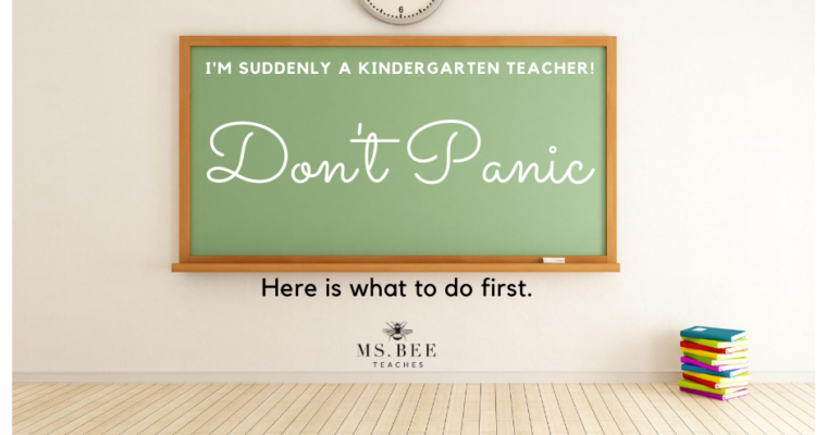 Help! I'm a Kindergarten Teacher!