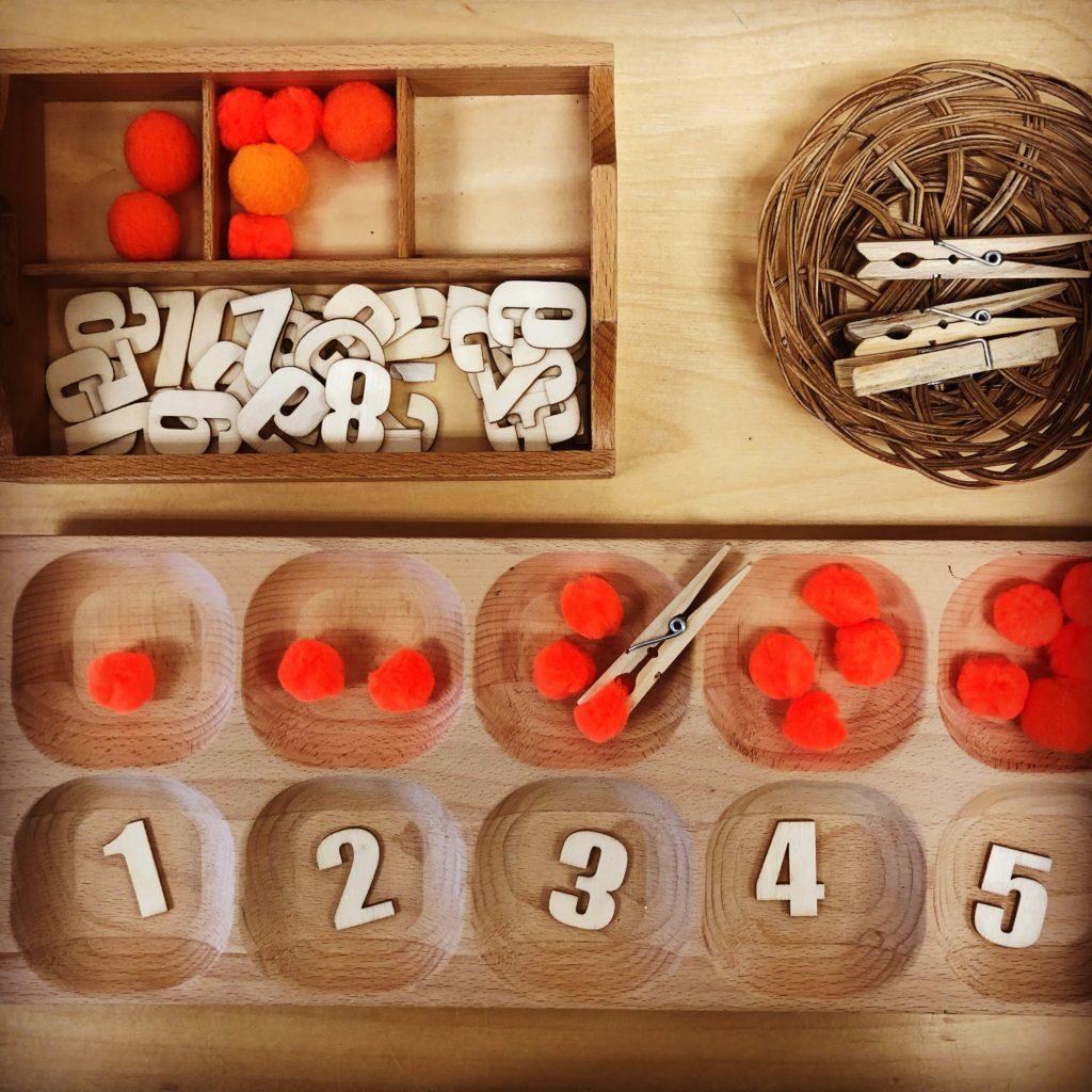 math and fine motor kindergarten pumpkin activity