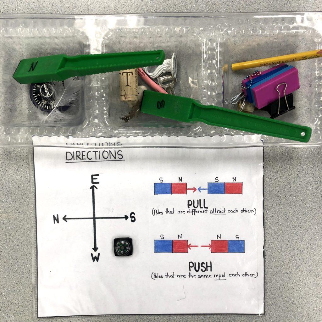 magnetic investigation inquiry kindergarten